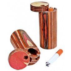"""5ct Dugout 3"""" Cylinder With Bat"""