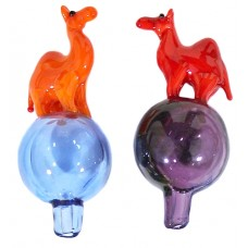 4ct Camel Bubble Carb Cap Assortment