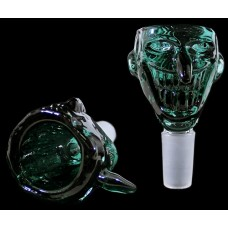 3ct Joker Face Colored Bowl - 14mm Male