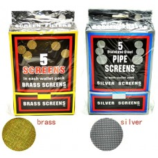 Metal Pipe Screen Filters 100Pk