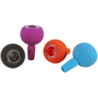 10ct Silicone Glass Bowl With Built In Screen - Solid Colors