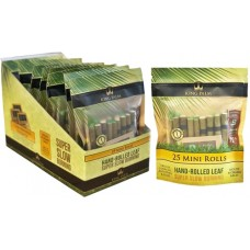 King Palm 25 Mini Rolls With Boveda Pouch 8pk