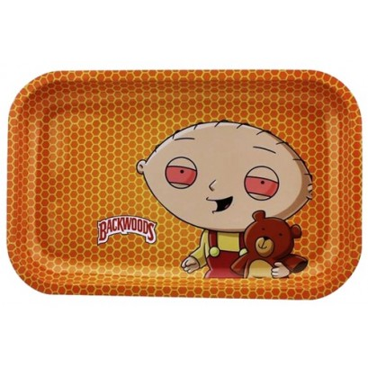 Backwoods Rolling Tray - Family Guy Stewie