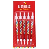 Birthjays Pre-rolled 5pk Cone Birthday Candles