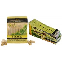 King Palm Natural Corn Husk Filters 24pk - 9mm