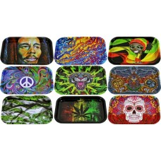 5ct Metal Rolling Tray Assortment - Large