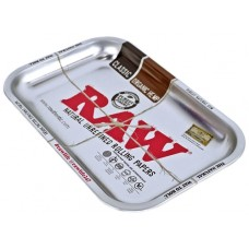 Raw Rolling Tray Metal Silver - Small