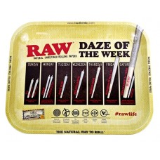 Raw Rolling Tray Metal Large - Daze Of The Week