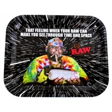 Raw Rolling Tray Metal Large - Oops