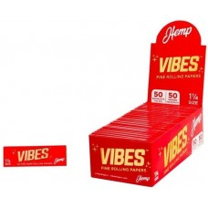 Vibes Hemp 1 1/4 Rolling Papers