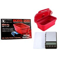 Superior Balance 200G x 0.01G Digital Boss Scale With Collapsible Bowl