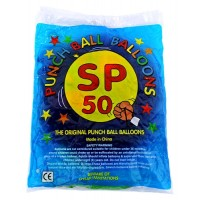 50ct Super Punch Ball Party Balloons