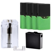 10ct Refillable 1ml Juul Compatible Ceramic Coil - Blank Pods