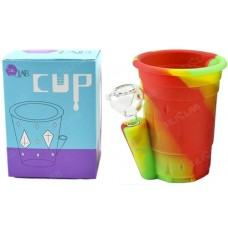 "5"" Silicone Cup Design Multi-Usage Cocktail Water Pipe"
