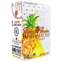 High Hemp Organic Wraps - Pineapple Paradise