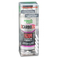 QCarbo Clear Detox 20 oz. Cran-Raspberry With Booster Tablets