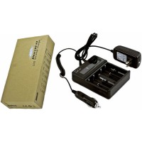 Efest LUC V4 - Four Bay LCD Universal Charger