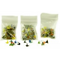 100ct Assorted Small Jack Glass Screen