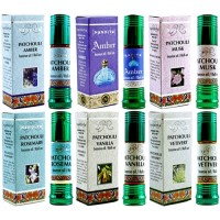 12ct Nandita Incense Oil Roll On Assortment
