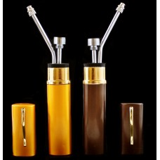 "10ct 5.5"" Eye Glass Case Portable Water Pipe"