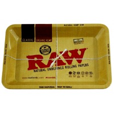 Raw Rolling Tray Metal Small