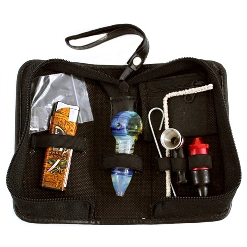 Travel Kit Pipes With Electronic Lighter