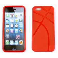 iPhone 5 Protective Cover Anchor Design-Red