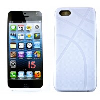 iPhone 5 Protective Cover Anchor Design-White