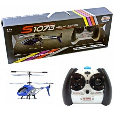 3.5ch S107G Mini RC Helicopter Metal Series with Gyro