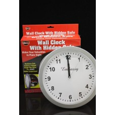 Wallclock With Hidden Safe