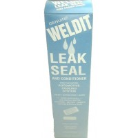 Stop leak weldit leak seal